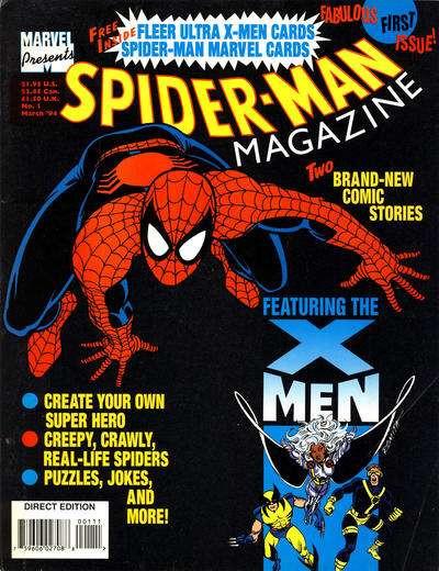 Spider-Man Magazine Vol 1 1