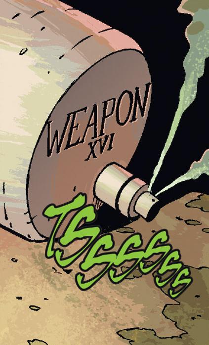Weapon XVI/Gallery