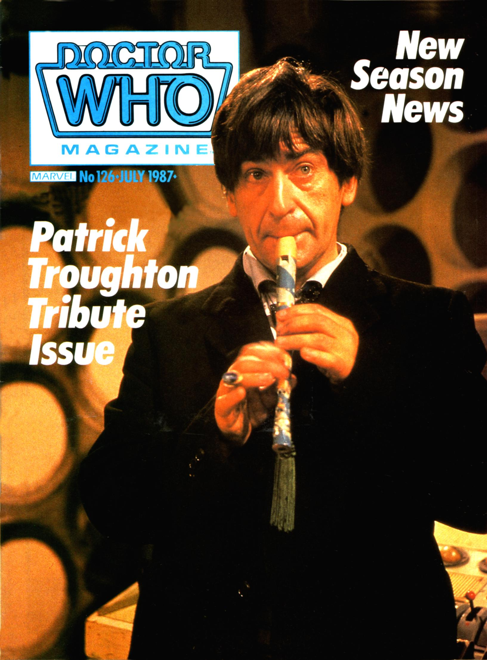 Doctor Who Magazine Vol 1 126