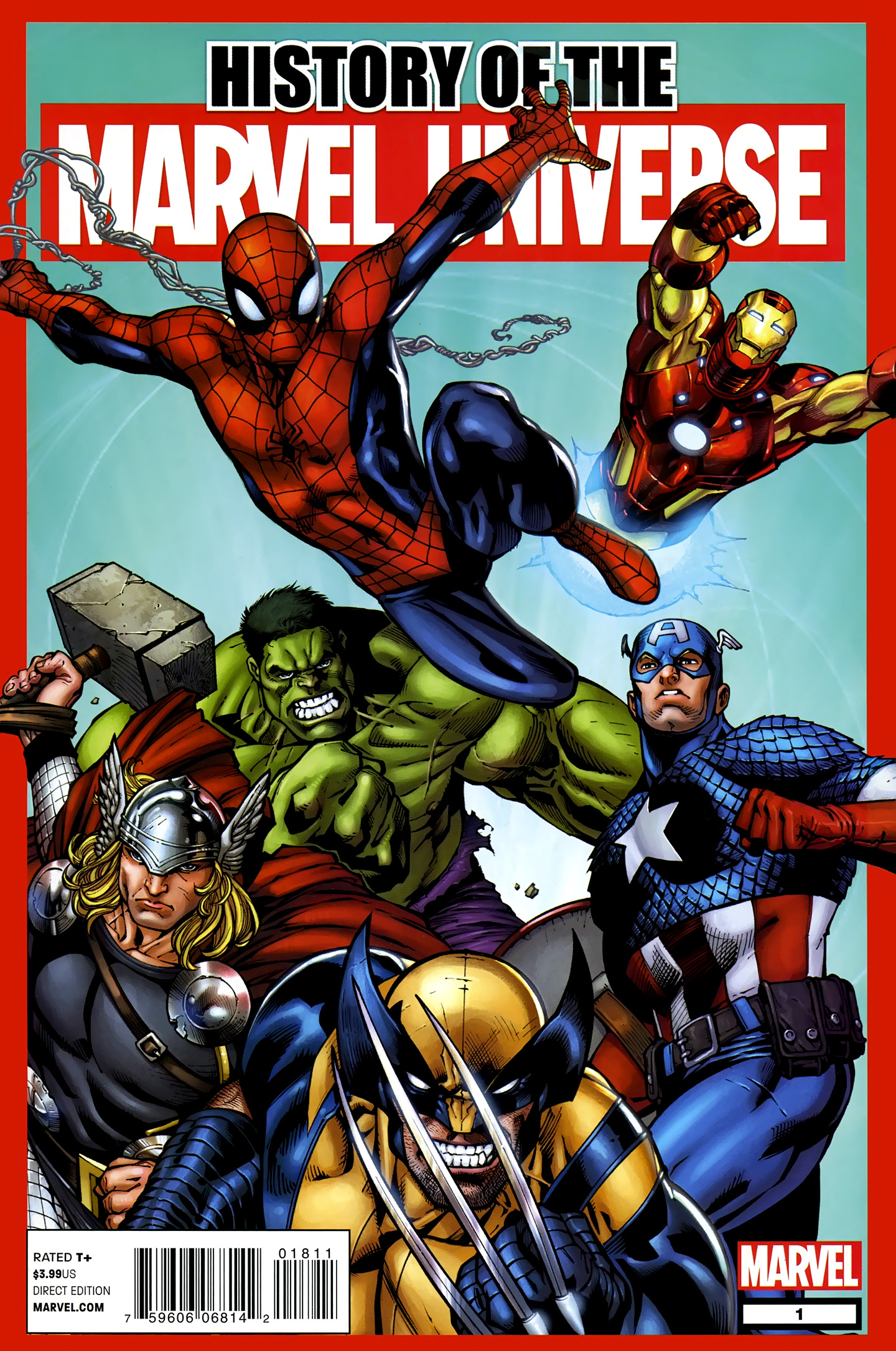 History of the Marvel Universe Vol 1