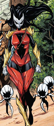 Hive (Poisons) (Earth-17952) Members-Poison Spider-Woman from Venomized Vol 1 2 001.png