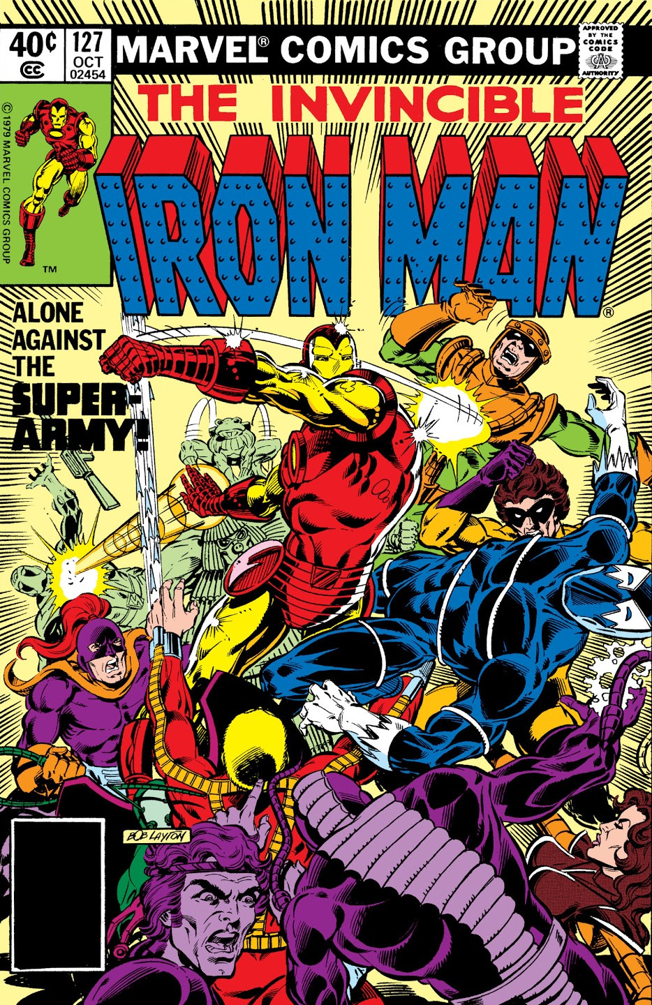 Iron Man Vol 1 127
