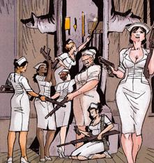 Machine Gun Nurses (Earth-616)/Gallery