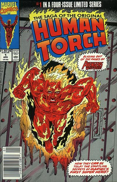 Saga of the Original Human Torch Vol 1 1