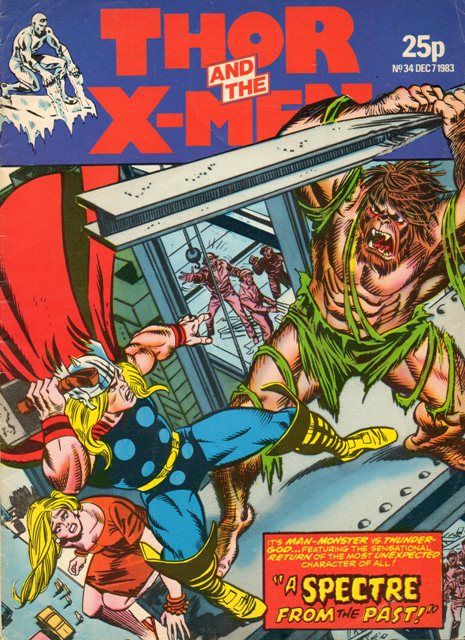 Thor and the X-Men (UK) Vol 1 34