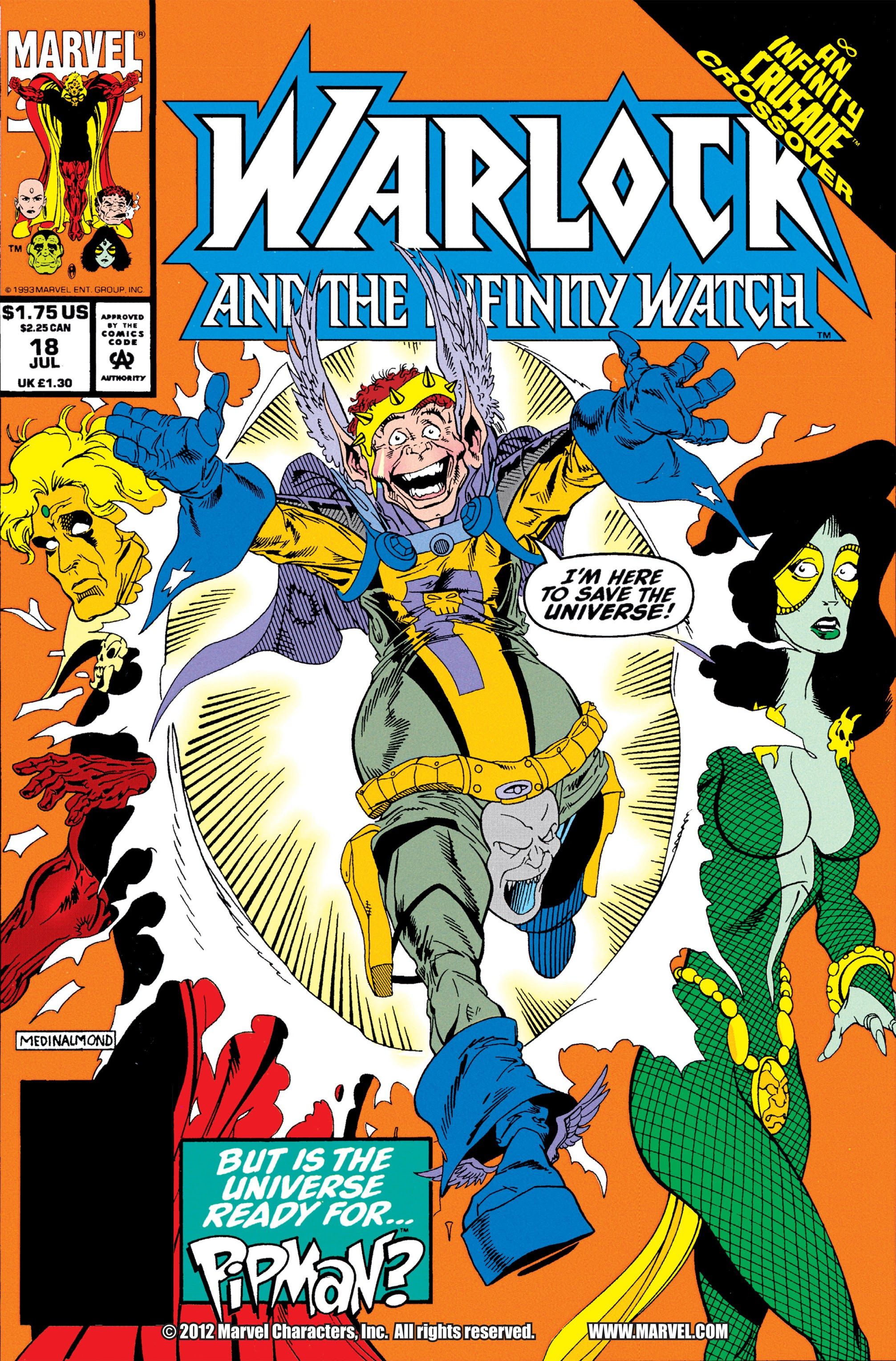 Warlock and the Infinity Watch Vol 1 18