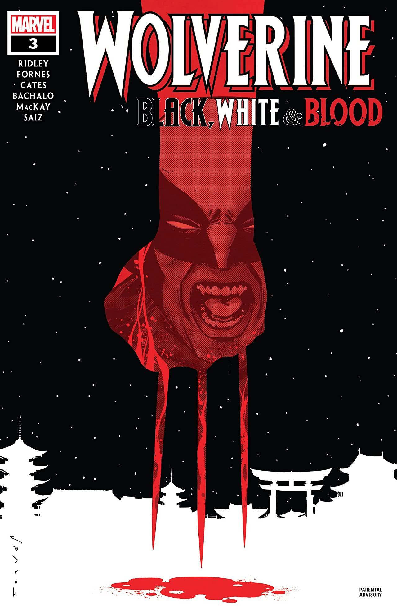 Wolverine: Black, White & Blood Vol 1 3