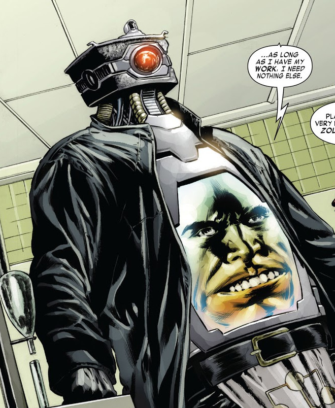 Arnim Zola's Robotic Body