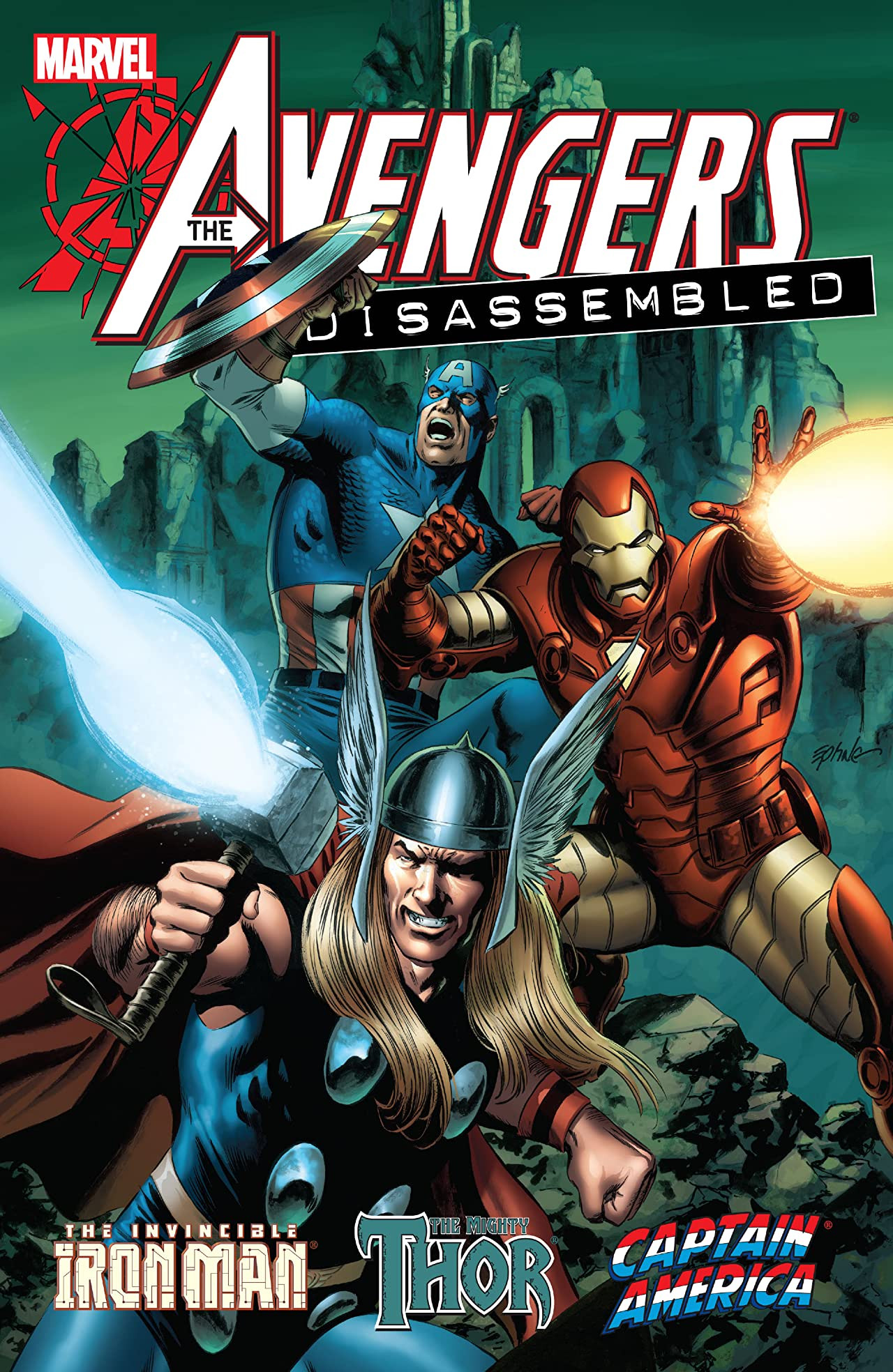 Avengers Disassembled: Iron Man, Thor & Captain America TPB Vol 1