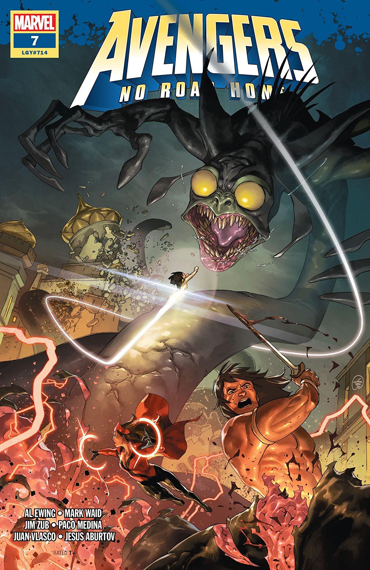 Avengers No Road Home Vol 1 7