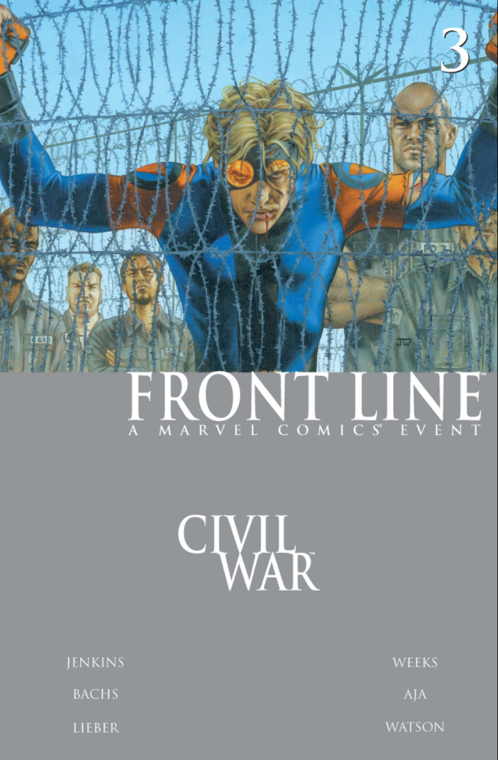 Civil War: Front Line Vol 1 3