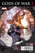 Civil War II Gods of War Vol 1 3