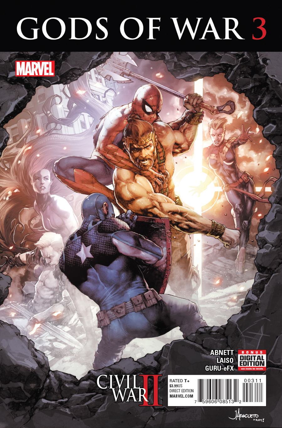 Civil War II: Gods of War Vol 1 3