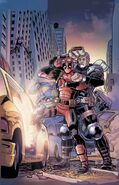 Deadpool & Cable Split Second Vol 1 2 Textless