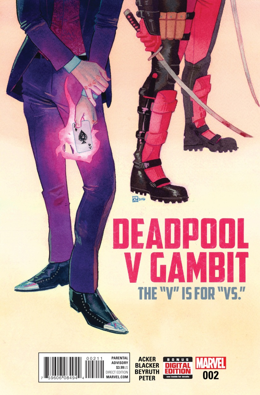 Deadpool v Gambit Vol 1 2