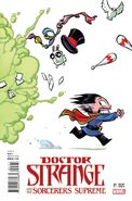 Doctor Strange and the Sorcerers Supreme Vol 1 1 Young Variant