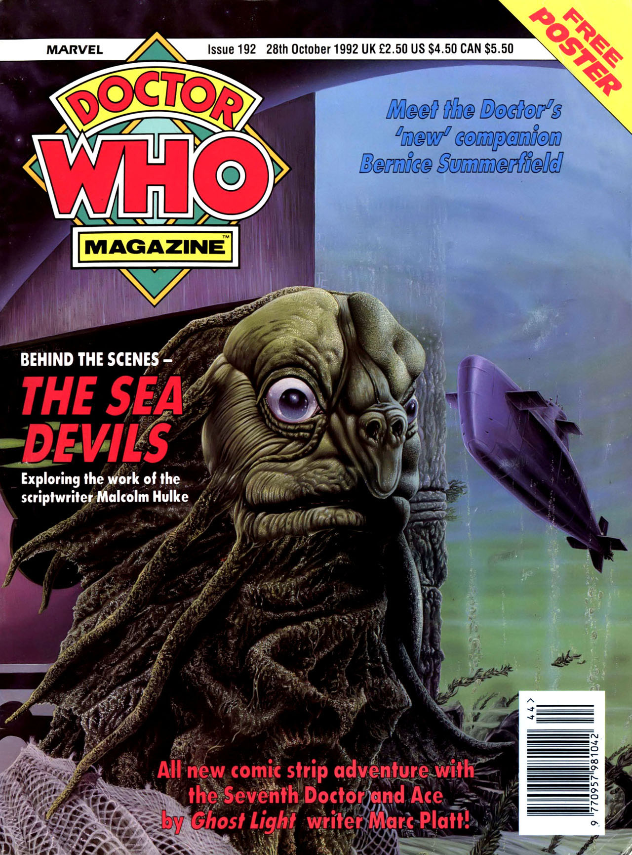 Doctor Who Magazine Vol 1 192
