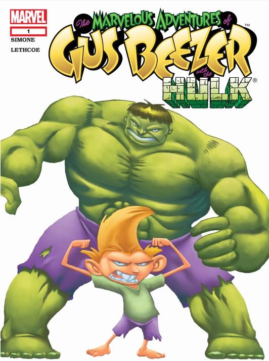 Marvelous Adventures of Gus Beezer: Hulk Vol 1 1