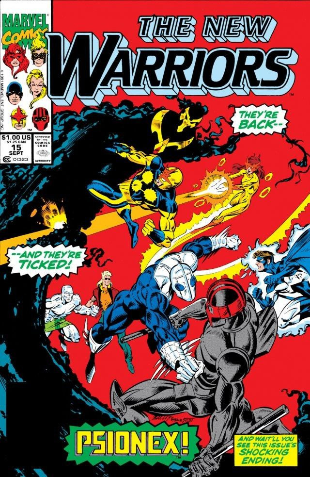 New Warriors Vol 1 15