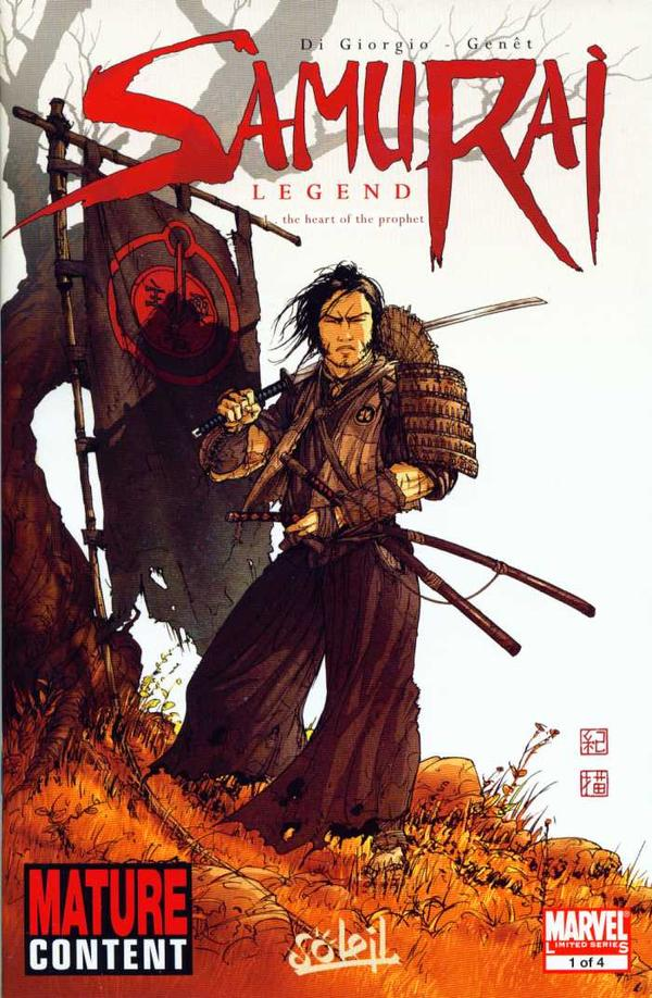 Samurai: Legend Vol 1 1