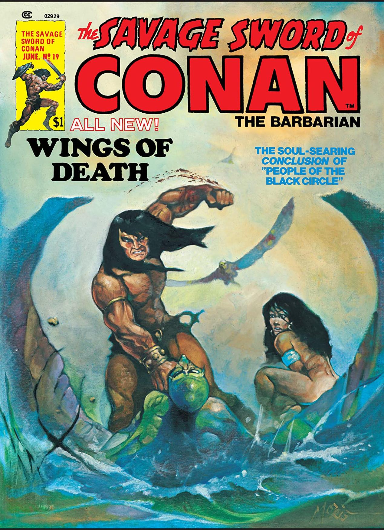 Savage Sword of Conan Vol 1 19