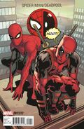 Spider-Man Deadpool Vol 1 1 Deadpool Variant