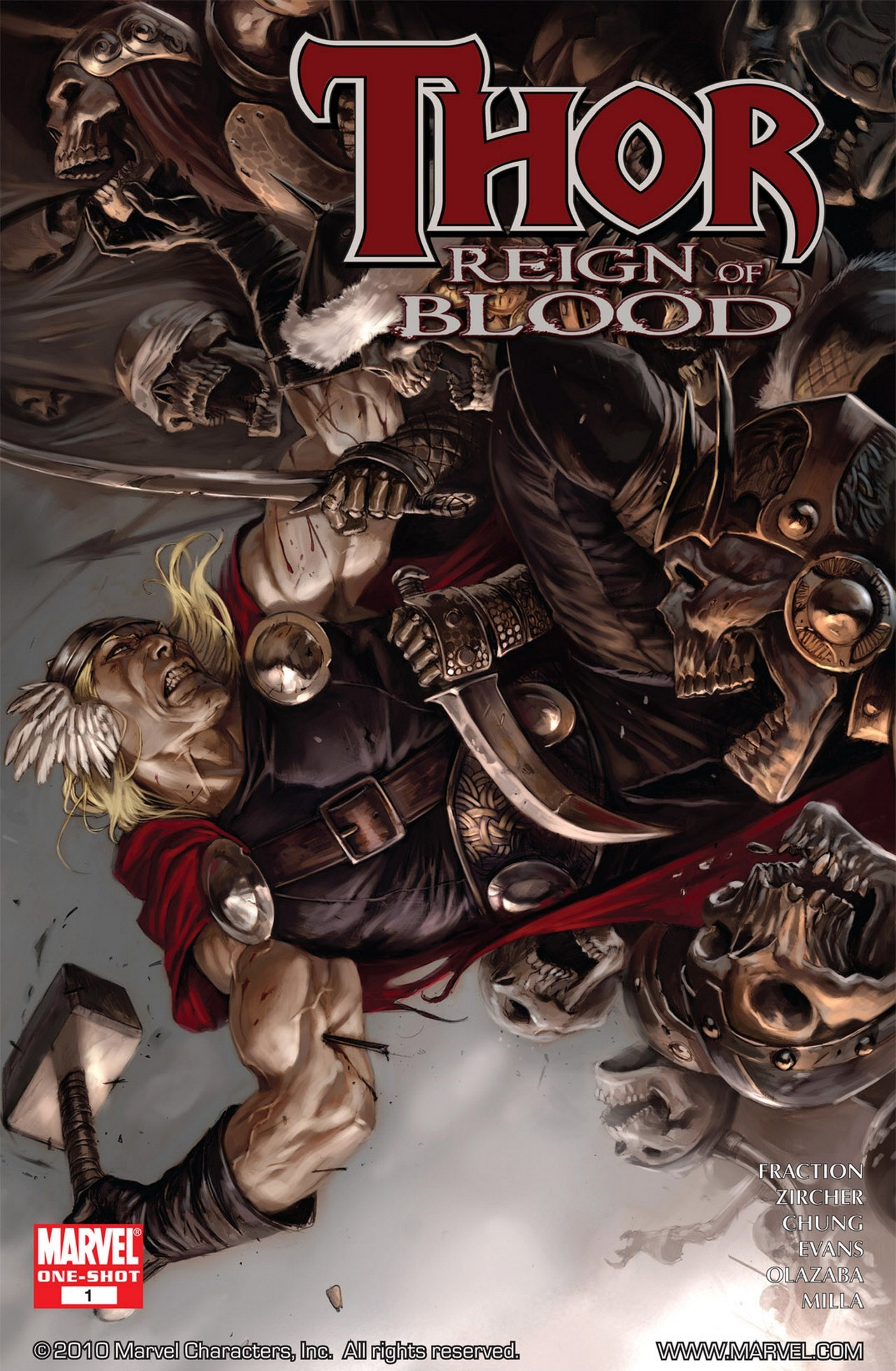 Thor Reign of Blood Vol 1