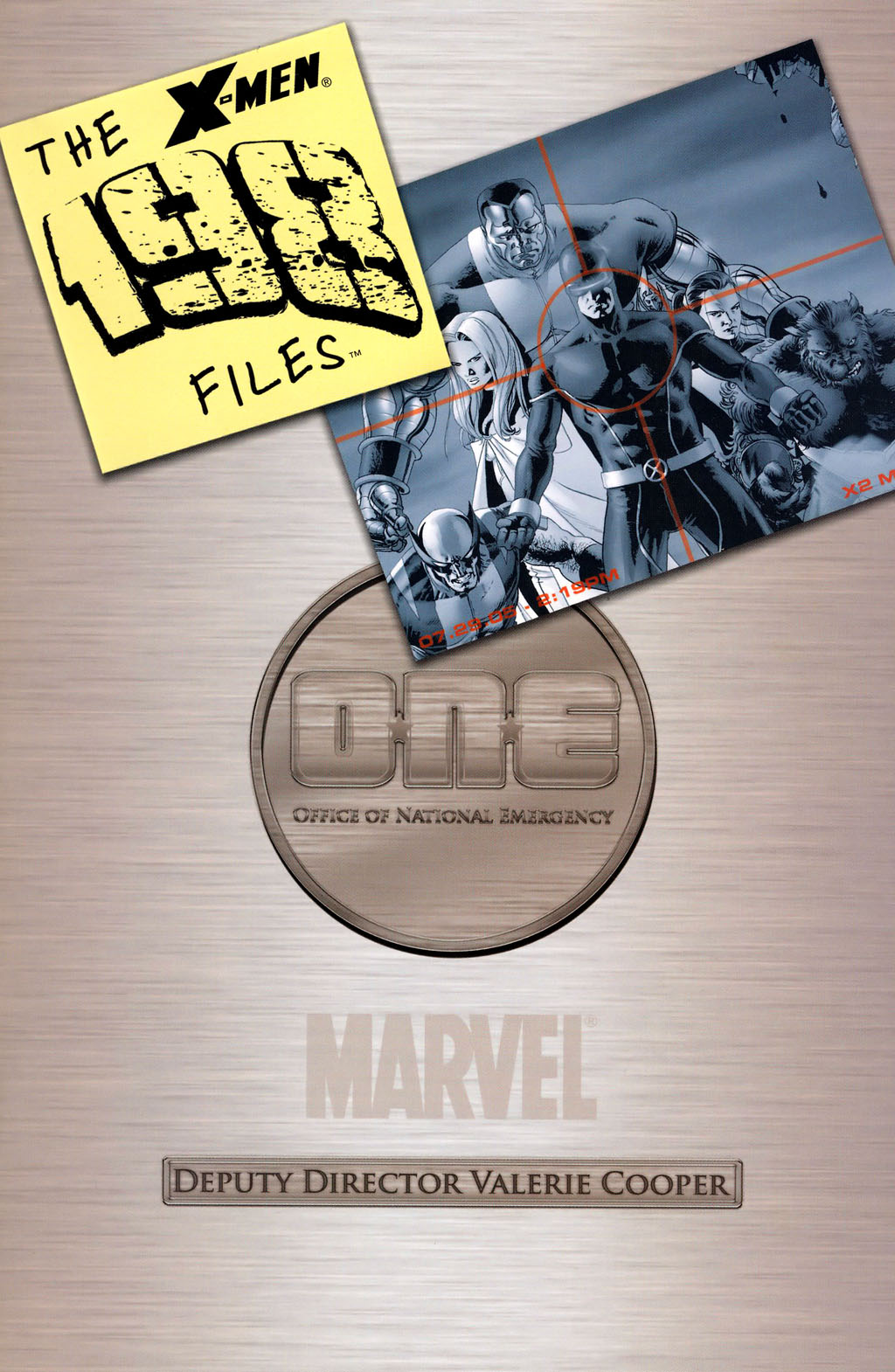 X-Men: The 198 Files Vol 1 1