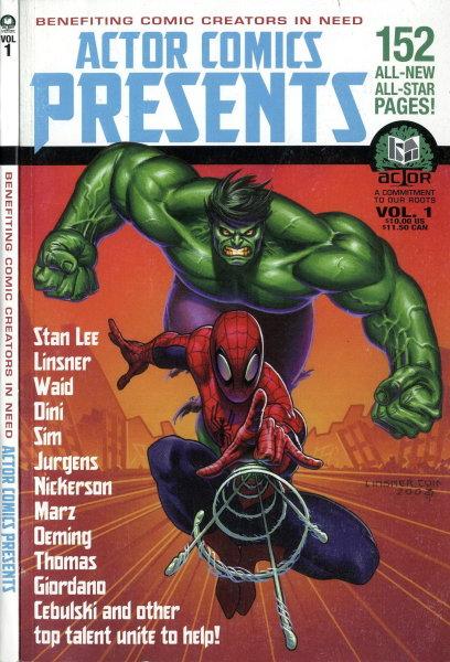 ACTOR Comics Presents Vol 1