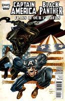 Black Panther-Captain America Flags of Our Fathers Vol 1 2