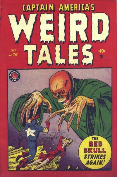 Captain America's Weird Tales Vol 1