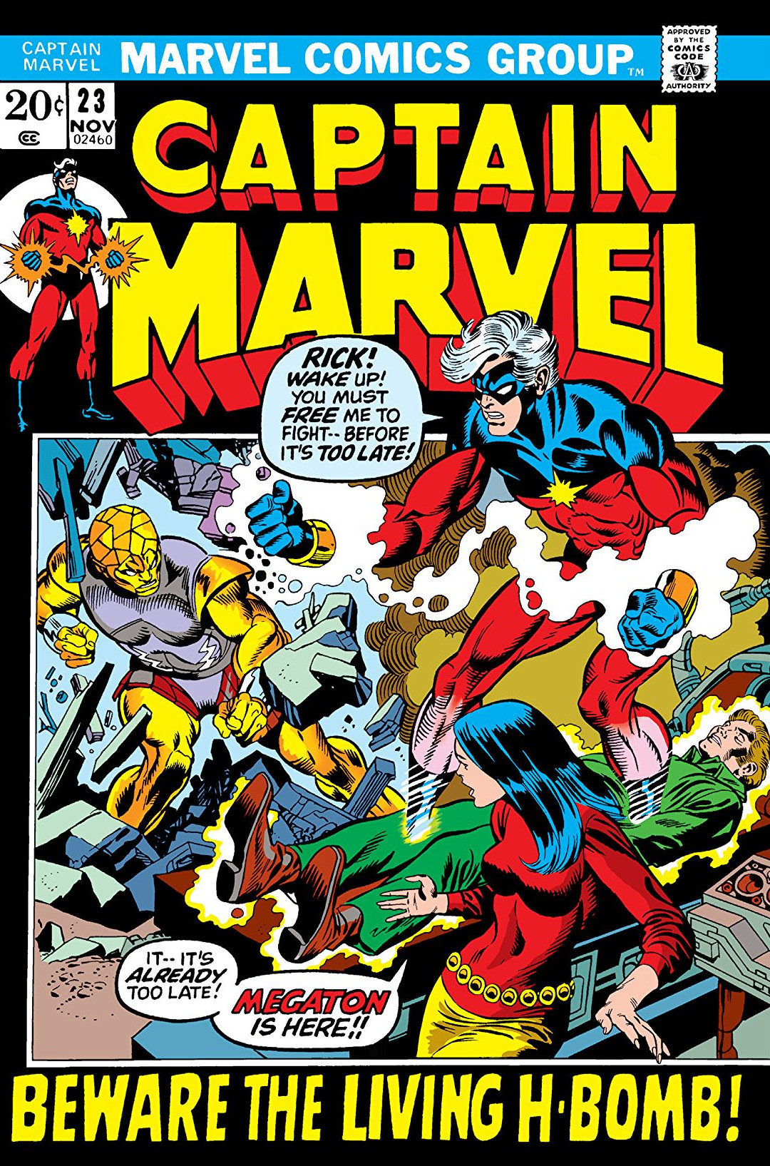 Captain Marvel Vol 1 23
