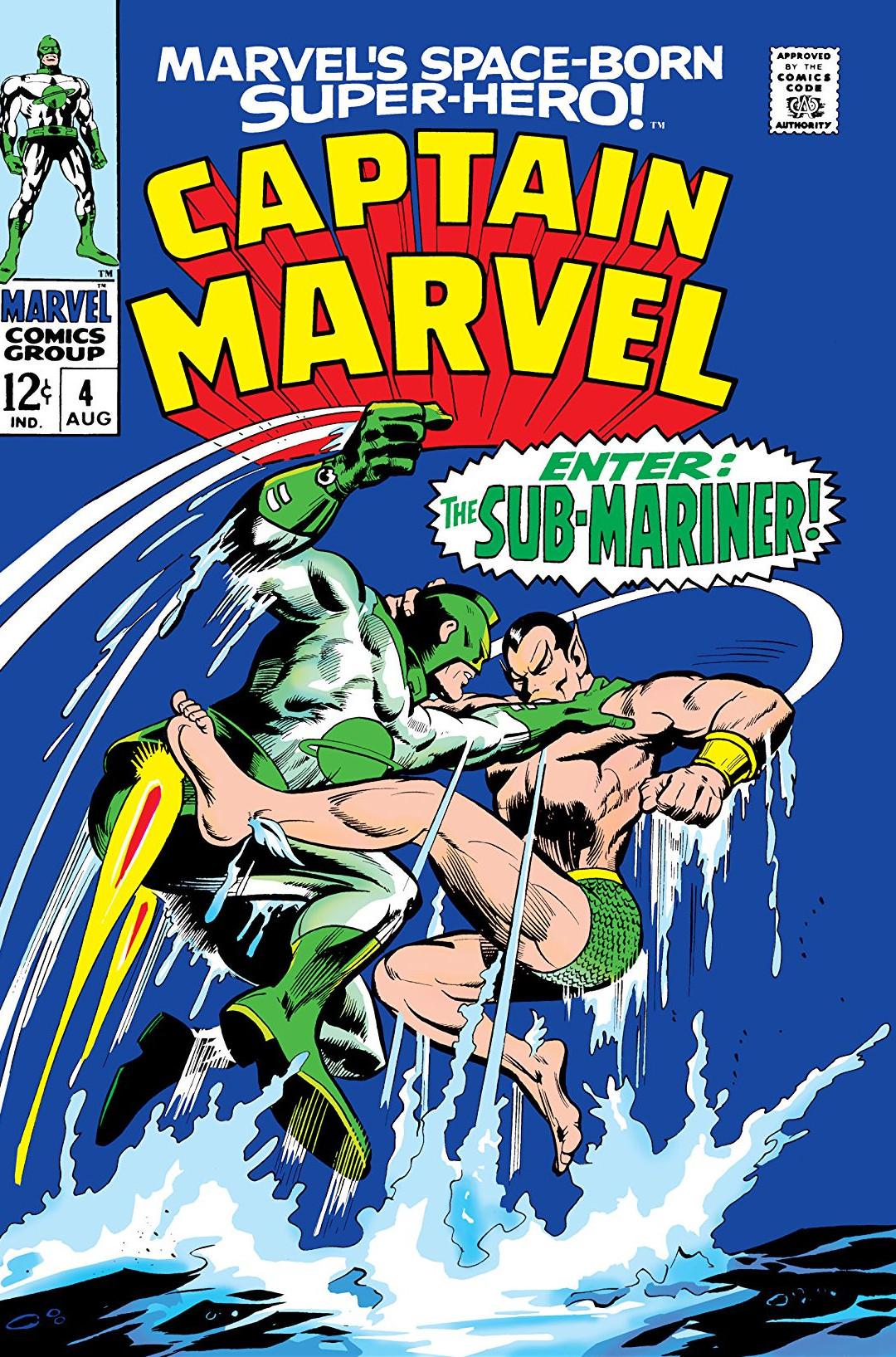 Captain Marvel Vol 1 4