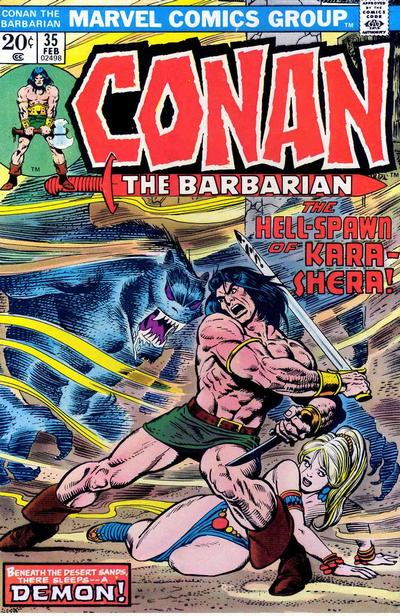 Conan the Barbarian Vol 1 35