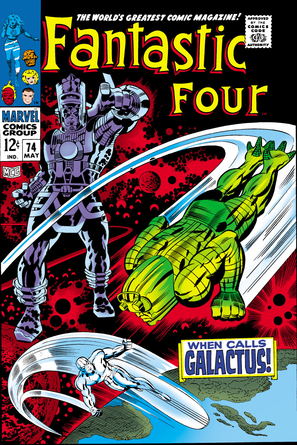 Fantastic Four Vol 1 74