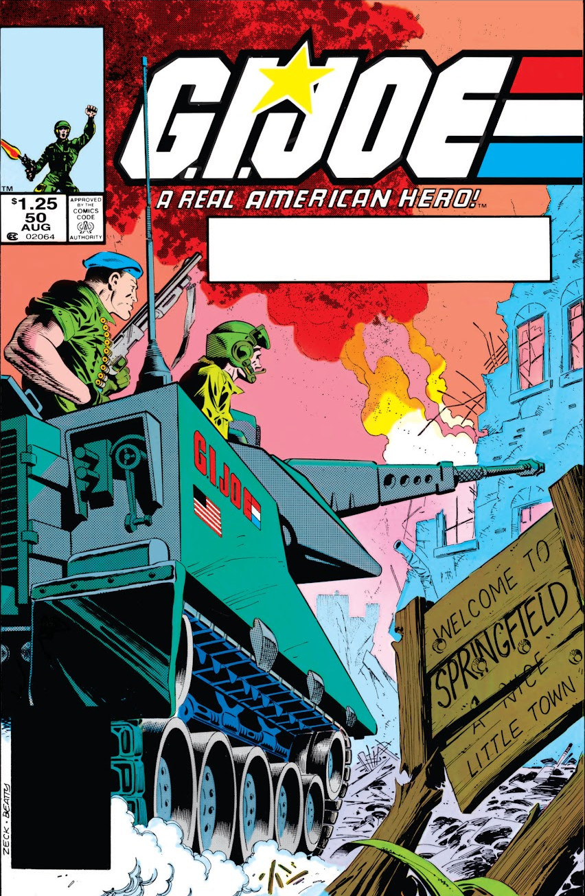 G.I. Joe: A Real American Hero Vol 1 50