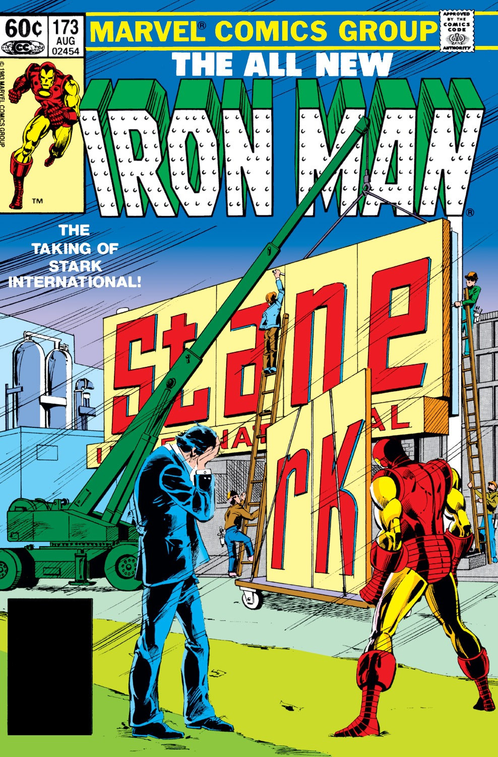 Iron Man Vol 1 173