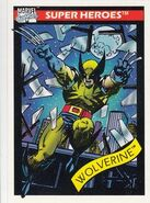 James Howlett (Earth-616) from Marvel Universe Cards Series I 0002