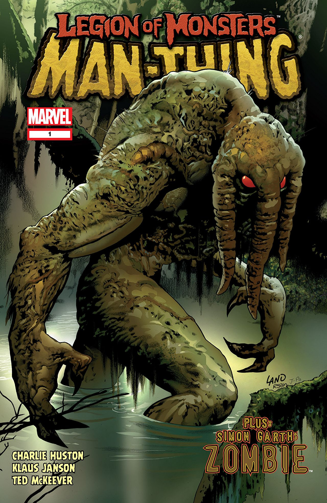 Legion of Monsters: Man-Thing Vol 1 1