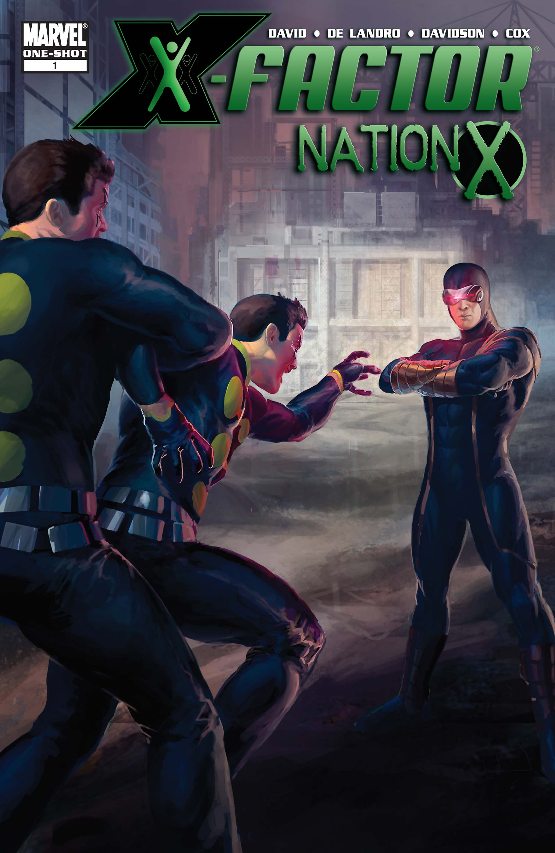 Nation X: X-Factor Vol 1 1