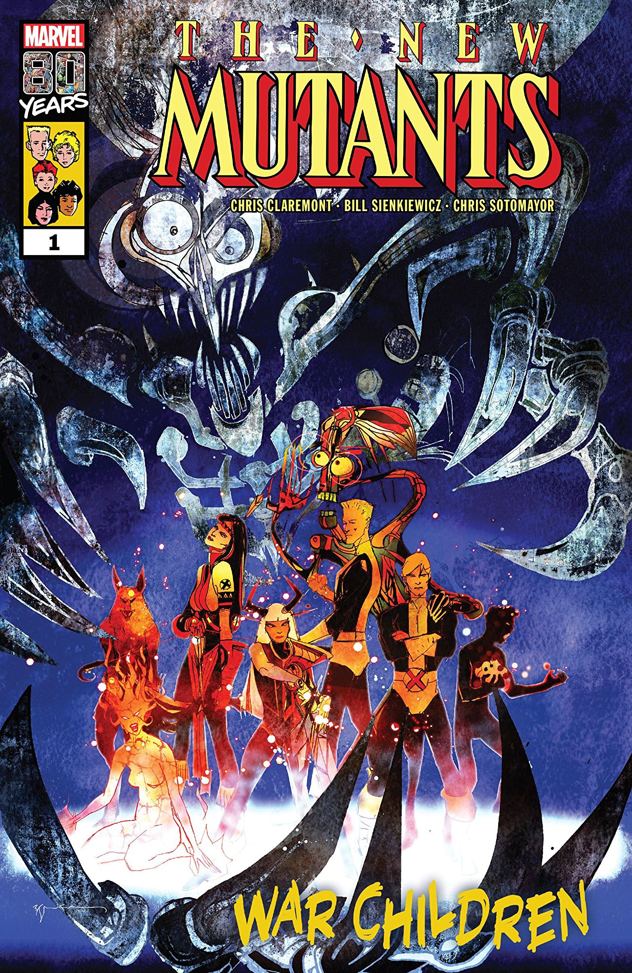 New Mutants: War Children Vol 1 1