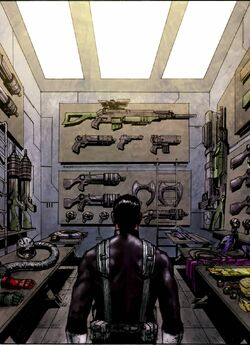 Punisher's Arsenal from Punisher Vol 8 5.jpg