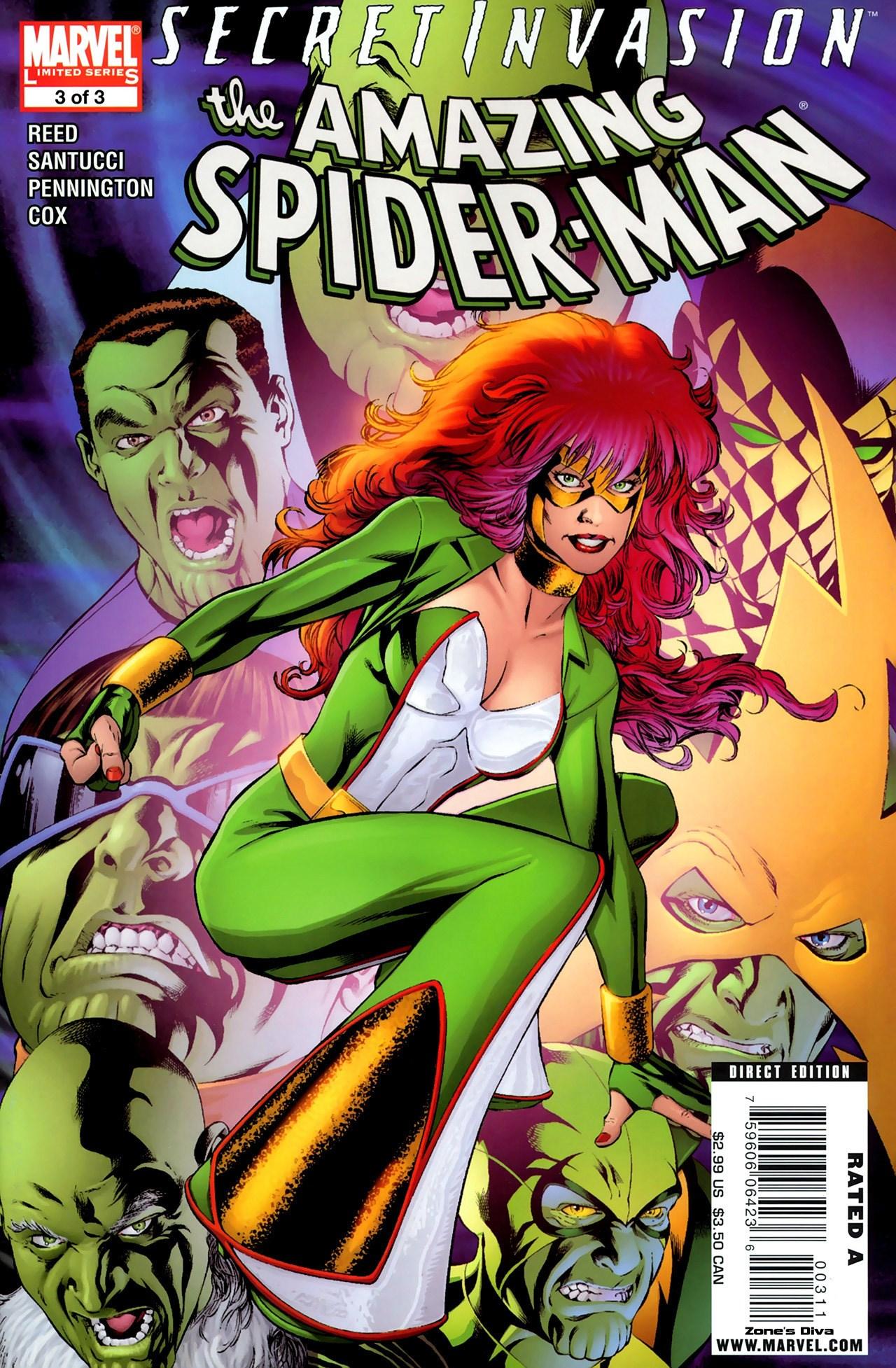 Secret Invasion: The Amazing Spider-Man Vol 1 3