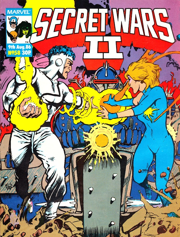 Secret Wars II (UK) Vol 1 58