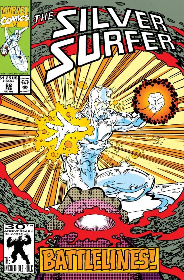 Silver Surfer Vol 3 62