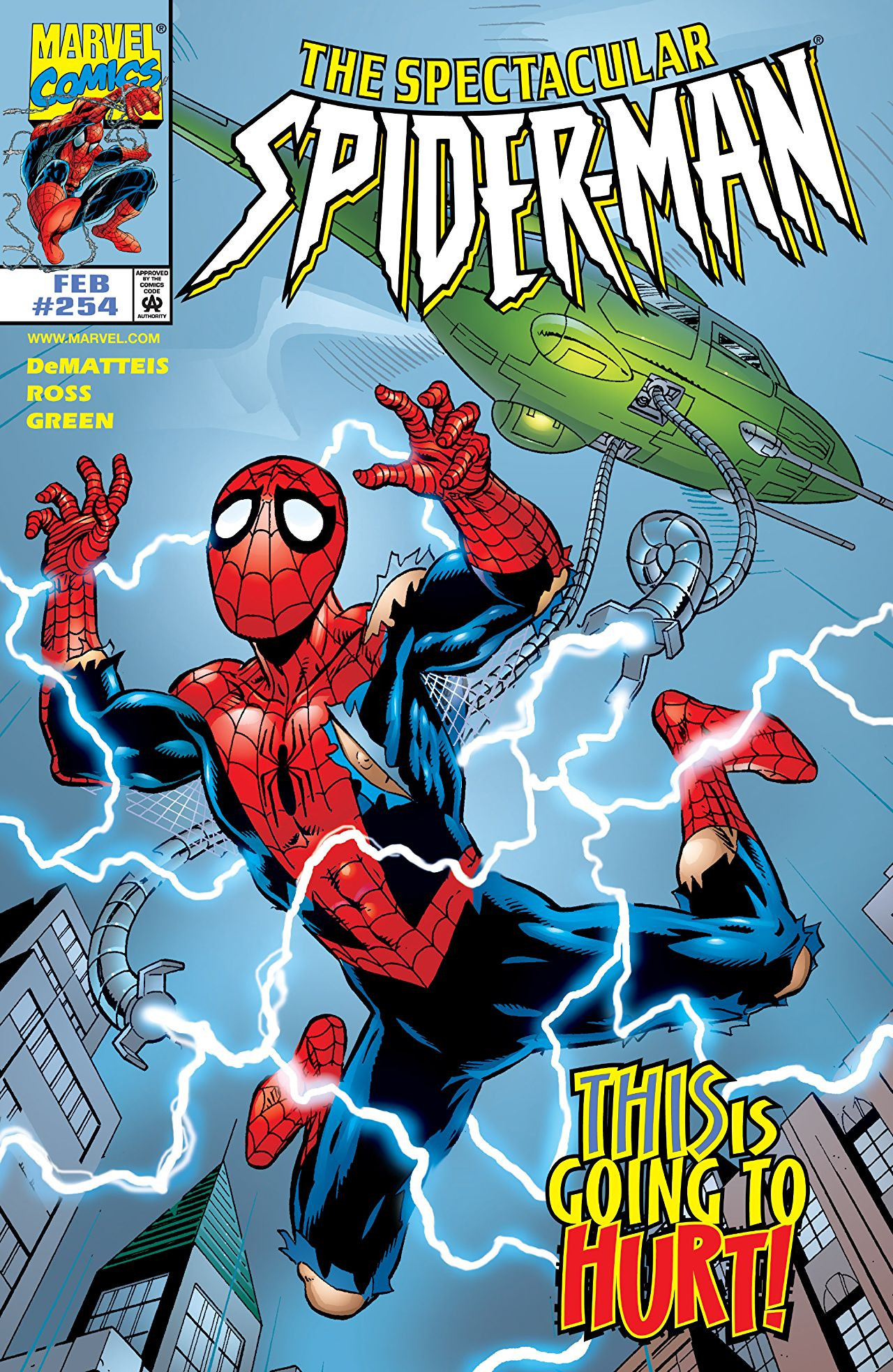 Spectacular Spider-Man Vol 1 254