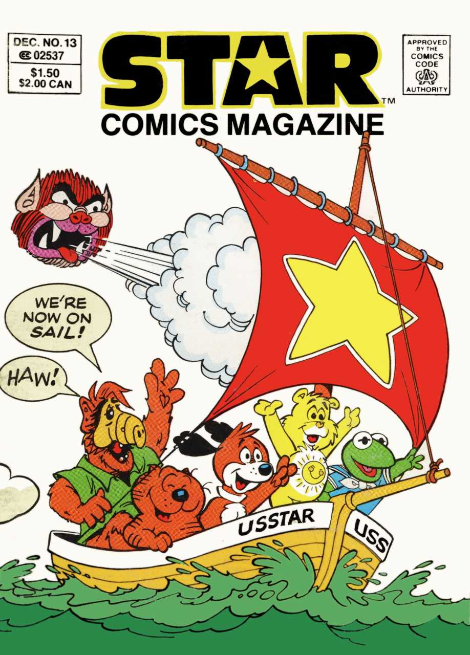 Star Comics Magazine Vol 1 13