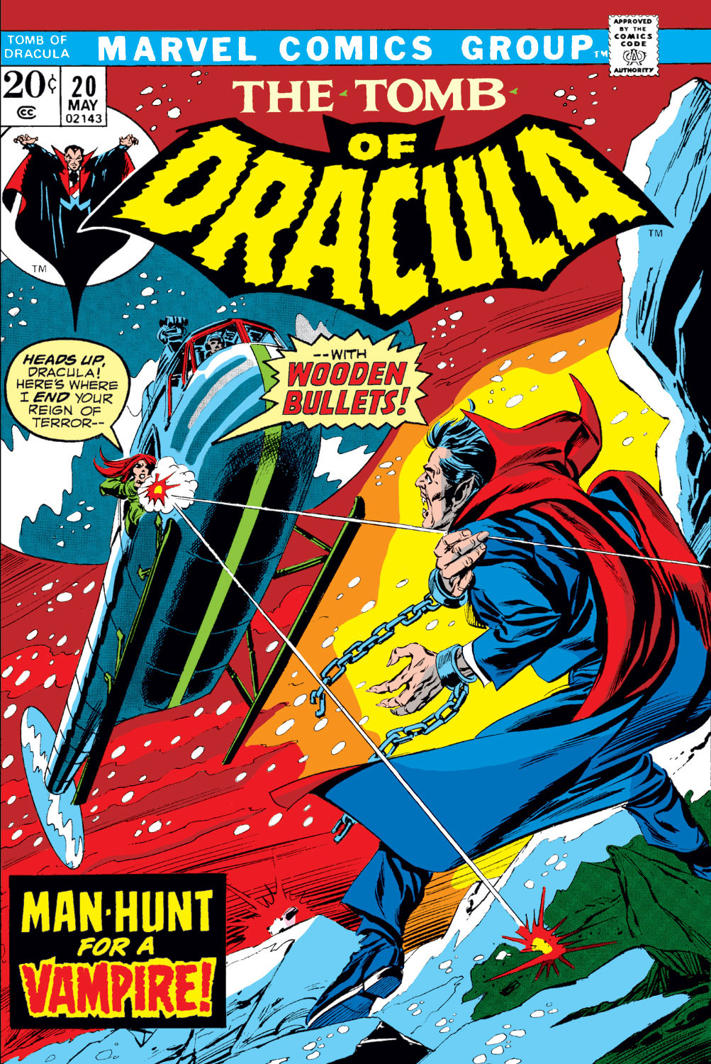 Tomb of Dracula Vol 1 20