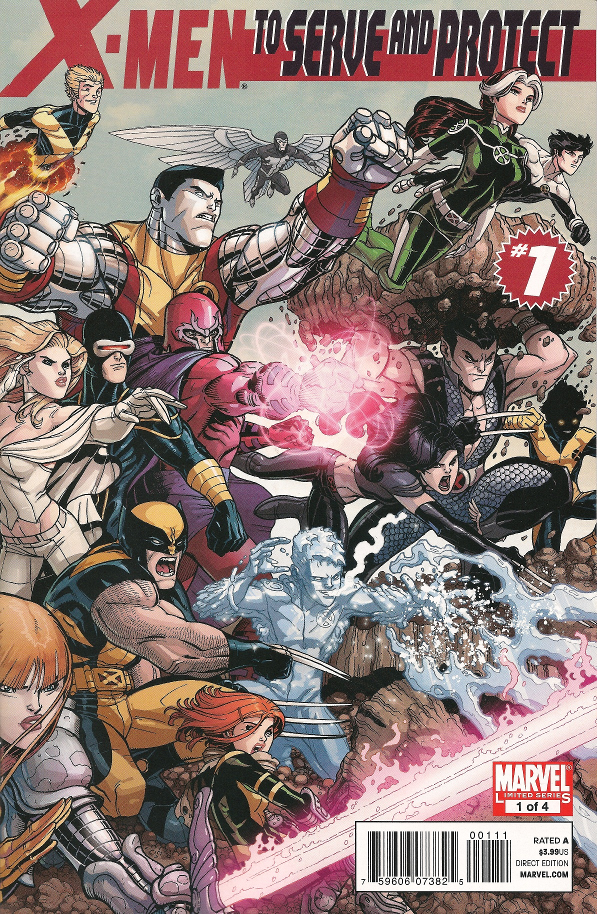 X-Men: To Serve and Protect Vol 1 1
