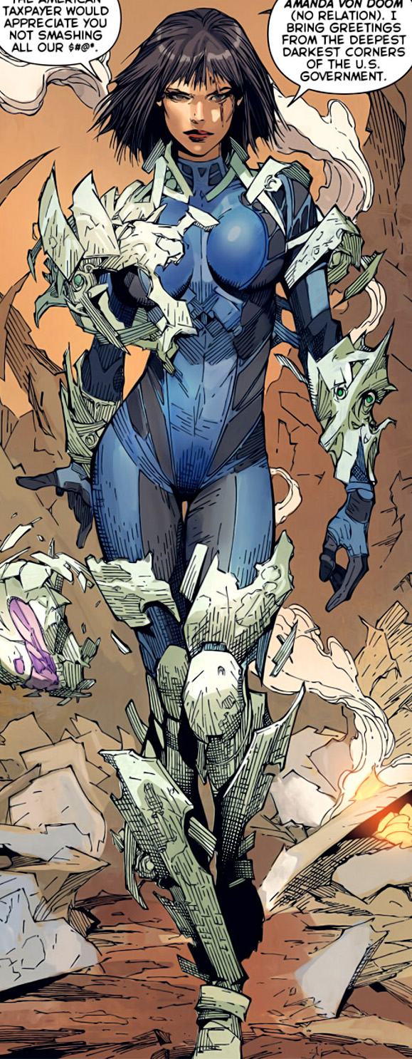 Amanda von Doom (Earth-616)